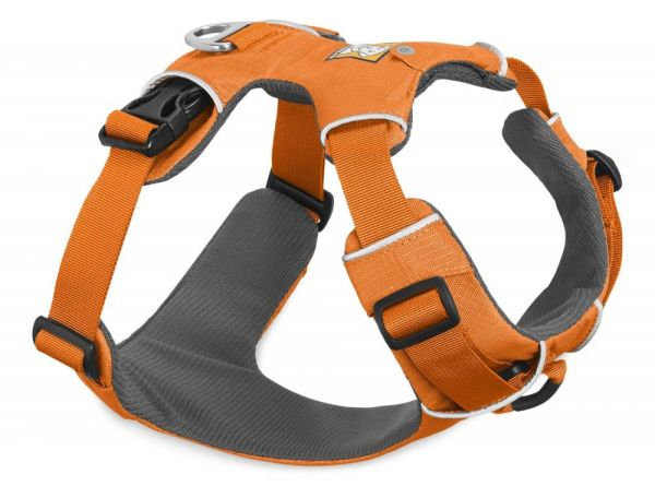 RUFFWEAR Front Range Geschirr Orange Poppy