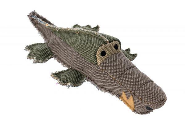 HUNTER Hundespielzeug Canvas Krokodil