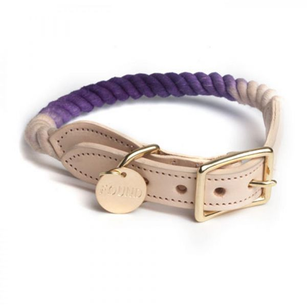 FOUNDMYANIMAL Tauhalsband Purple