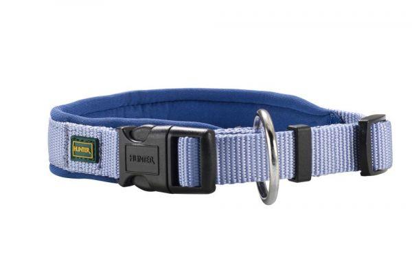 HUNTER Hundehalsband Vario Plus Neopren blau
