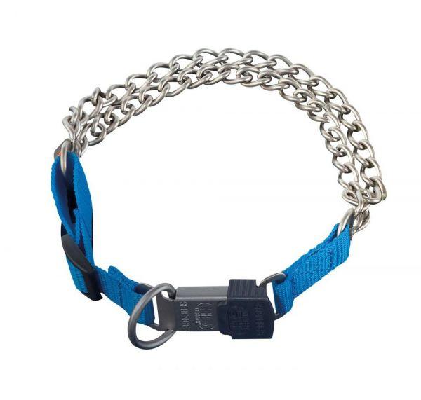 SPRENGER Halskette mit Nylon blau
