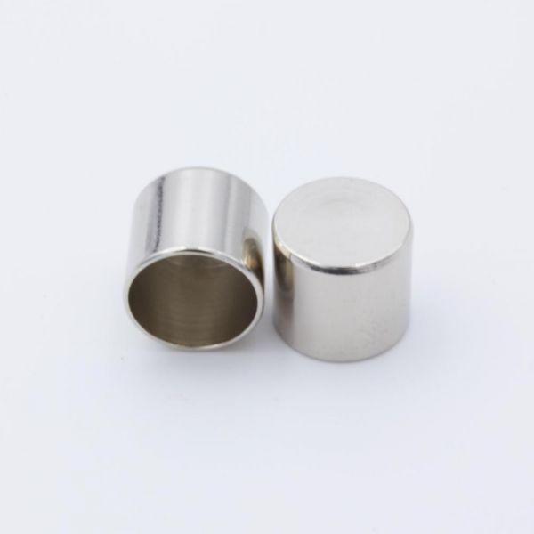 Seil-Endkappe silber