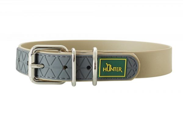 HUNTER Hundehalsband Convenience taupe