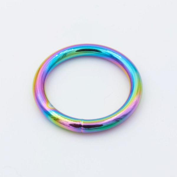 O-Ring Stahl, regenbogen