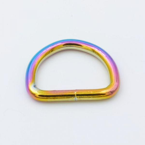 D-Ring Stahl, regenbogen
