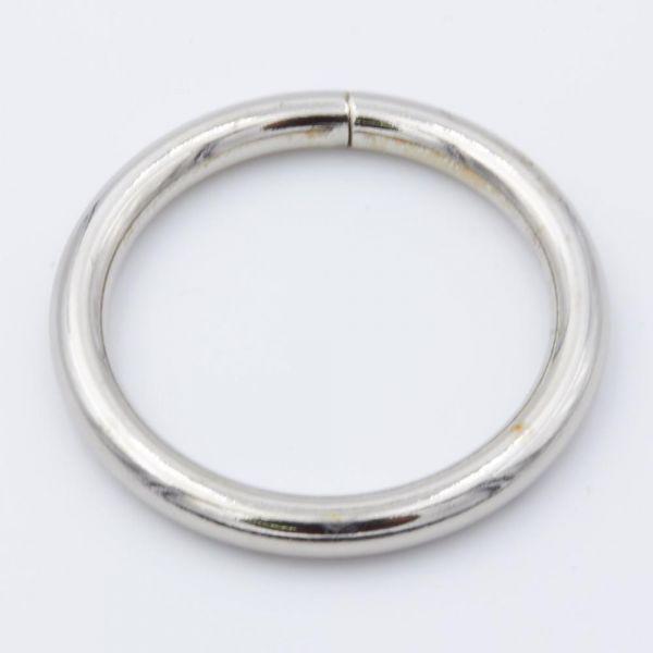 O-Ring Stahl, vernickelt