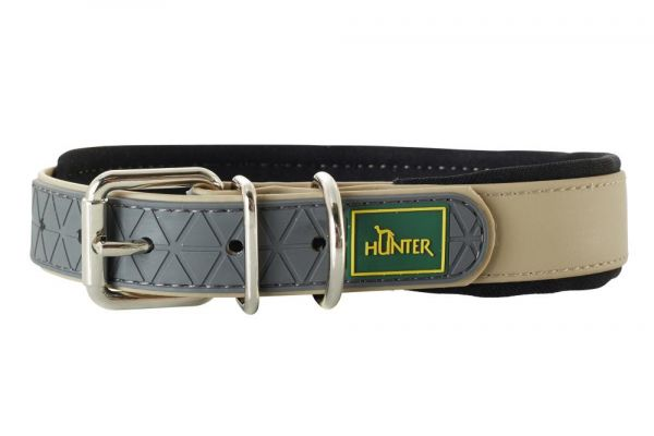 HUNTER Hundehalsband Convenience Comfort V2 taupe