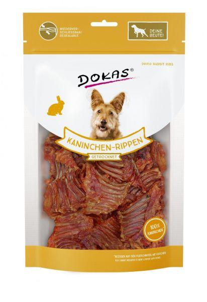 DOKAS Kaninchenrippen mit Fleisch 100g
